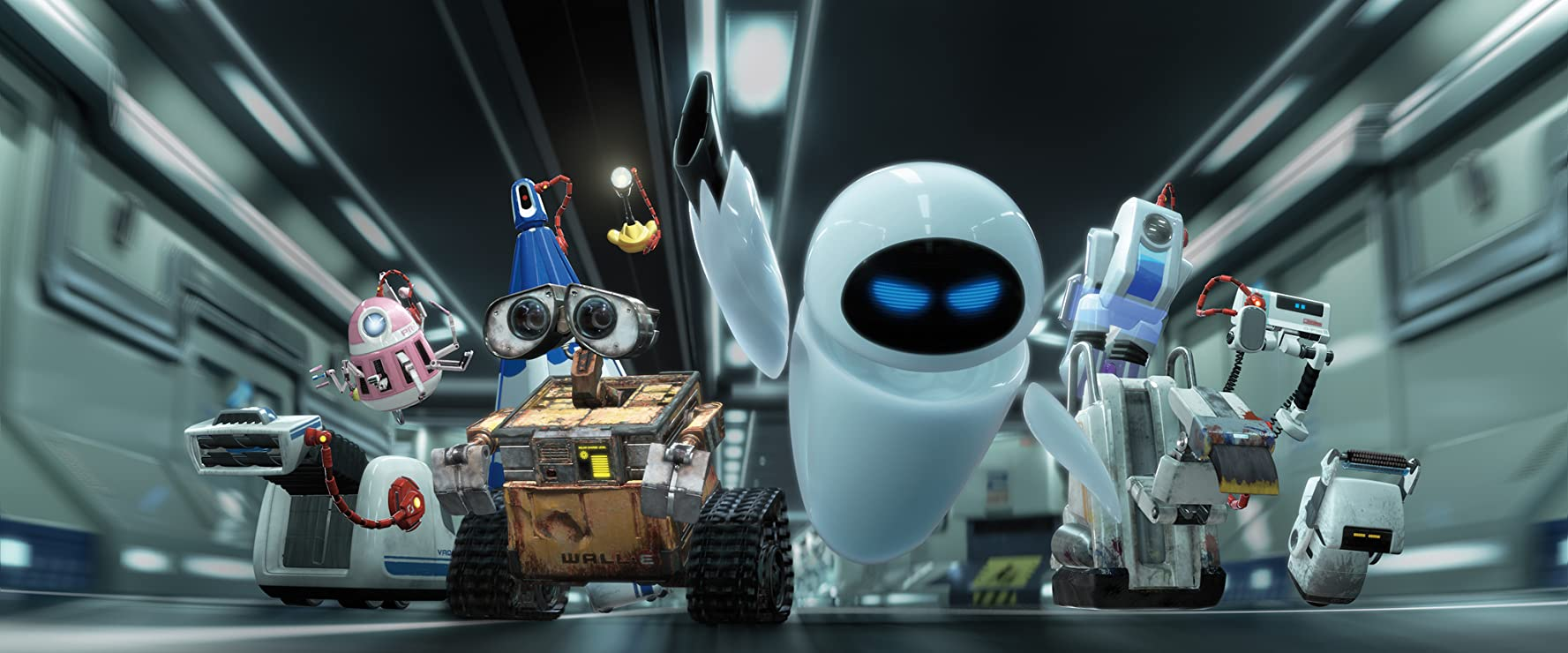 Ben Burtt and Elissa Knight in WALL·E (2008)
