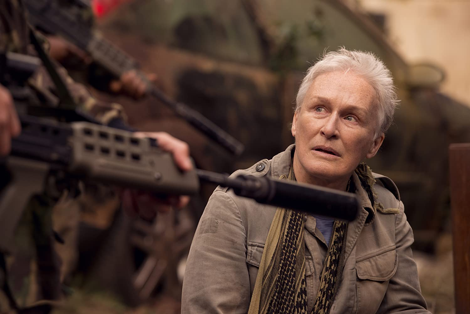 Glenn Close in The Girl with All the Gifts (2016)