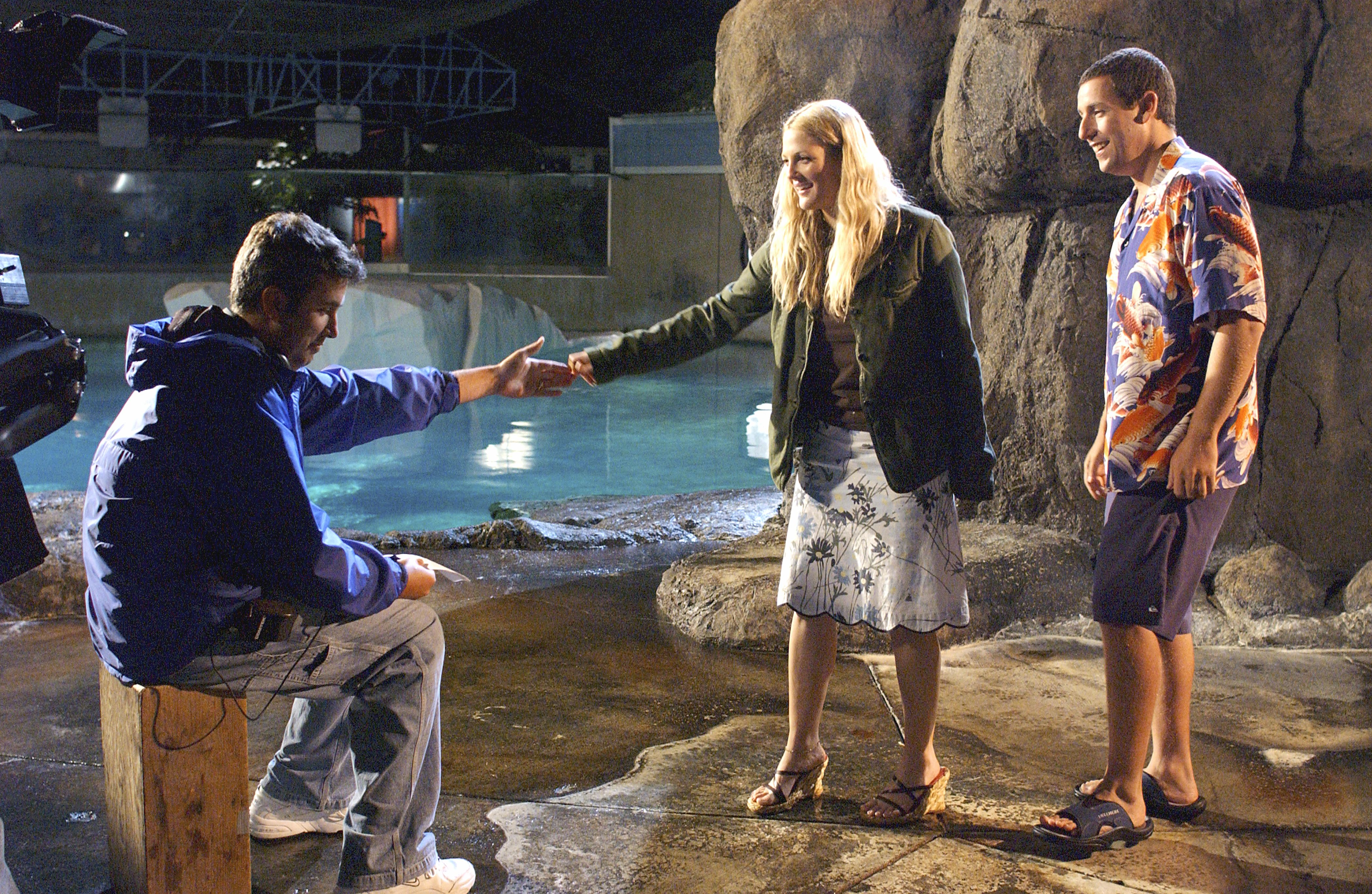 Drew Barrymore, Adam Sandler, and Peter Segal in 50 First Dates (2004)