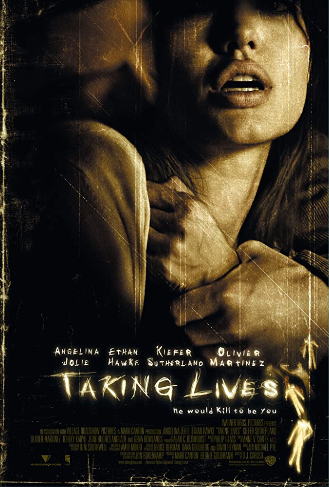 18+ Taking Lives 2004 English 720p UNRATED BluRay 800MB ESubs x264 AAC