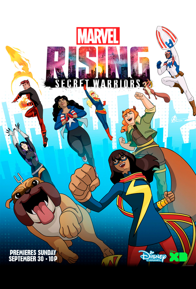 Marvel Rising Secret Warriors 2018 Dual Audio Hindi Dubbed Full Movie 300MB HDRip ESub Download Watch Online Free