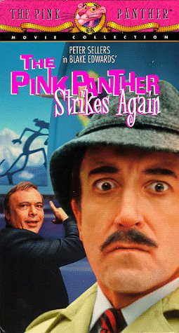 the pink panther strikes again movie poster