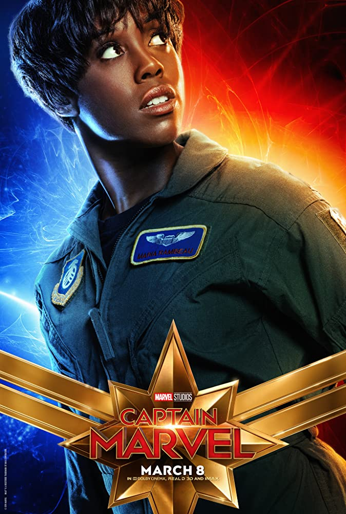 Lashana Lynch in Captain Marvel (2019)