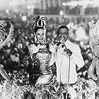 Sônia Braga and Sammy Davis Jr. in Moon Over Parador (1988)