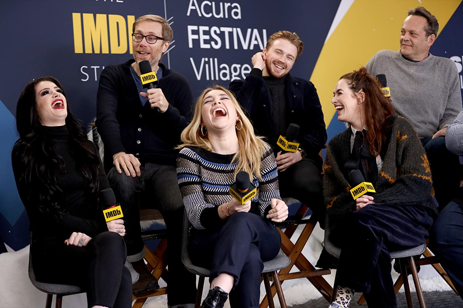 Vince Vaughn, Kevin Smith, Lena Headey, Stephen Merchant, Jack Lowden, and Florence Pugh