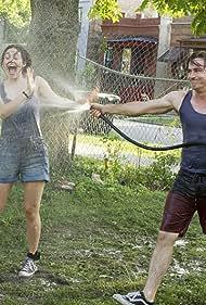 Dermot Mulroney, Emmy Rossum, and Brenden Sims in Shameless (2011)