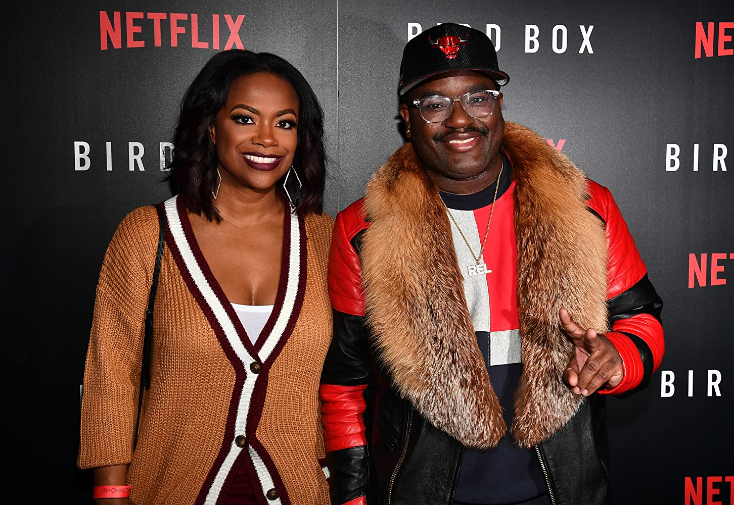 Kandi Burruss and Lil Rel Howery