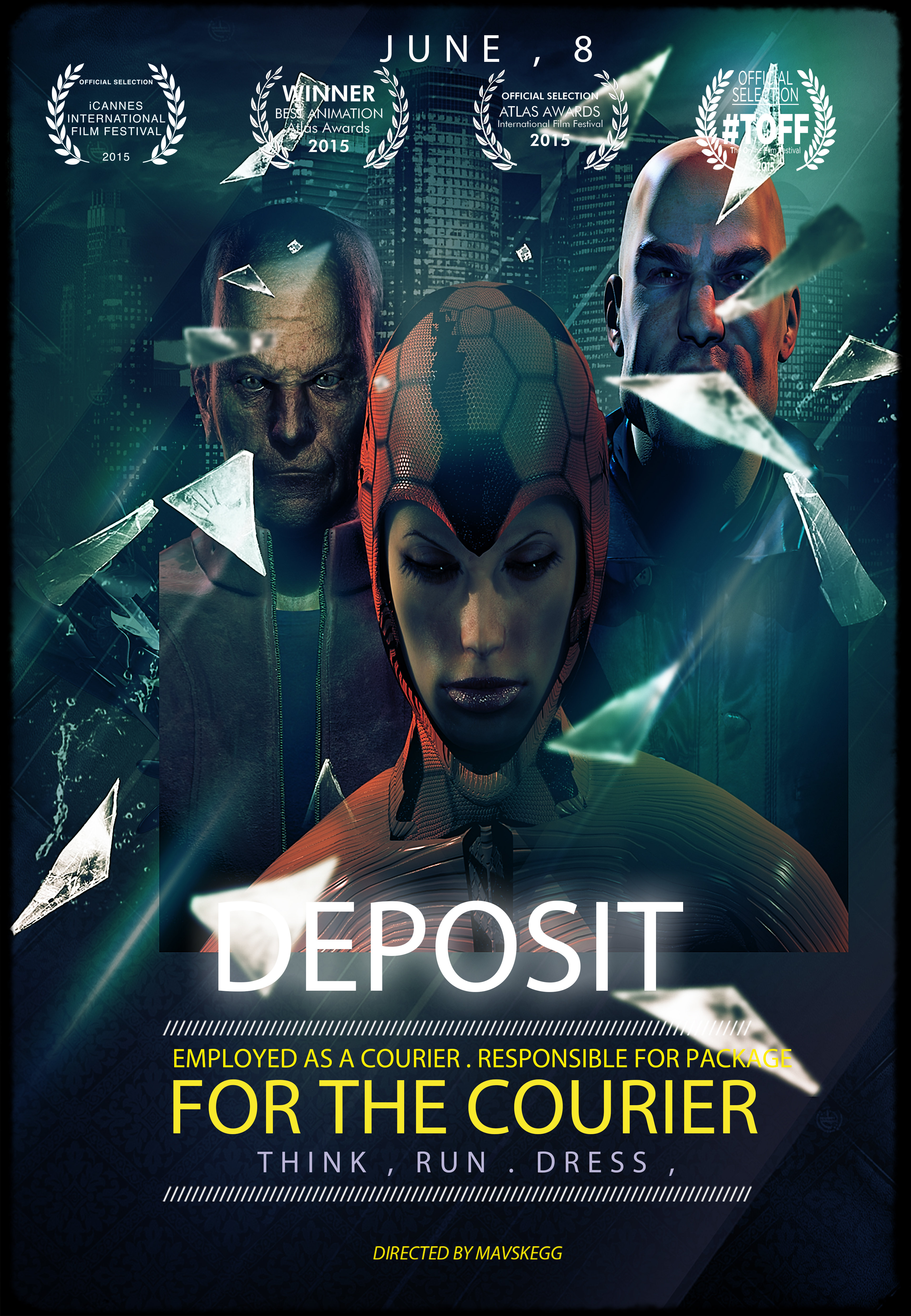 Deposit for the Courier