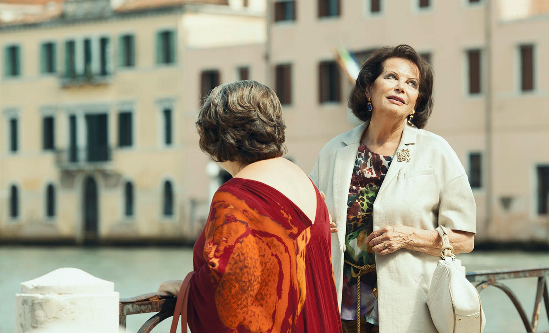 Claudia Cardinale and Nunzia Schiano in Niente di serio (2021)