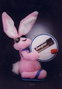 Energizer Bunny Created by All Effects Company 1990