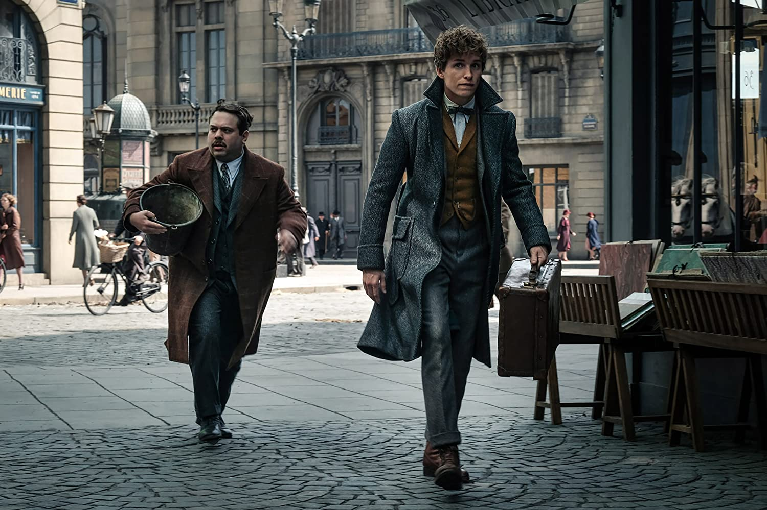 "Darker ToneOscar-winner (Eddie Redmayne returns as ""magizoologist "" Newt Scamander. Speaking on a break from filming, Redmayne said: ""In this film, you really get inside the psychology of the characters more and it's a darker place.""Taking place in 1927, a decade before World War II, Redmayne added: ""You can sort of get a sense of what's coming historically in the Muggle world and certainly the wizarding world. There are elements that are reflecting that and with the rise of Grindelwald and this greater evil, the stakes are higher."""