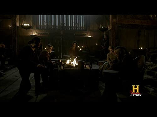 Ragnar and Lagertha fight over Rollo