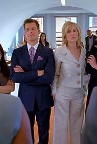 Rebecca Romijn, Judith Light, Eric Mabius, and America Ferrera in Ugly Betty (2006)