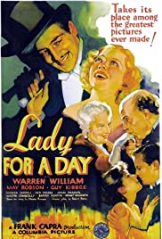Lady for a Day (1933) Poster - Movie Forum, Cast, Reviews