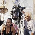 Jan de Bont and Angelina Jolie in Lara Croft Tomb Raider: The Cradle of Life (2003)