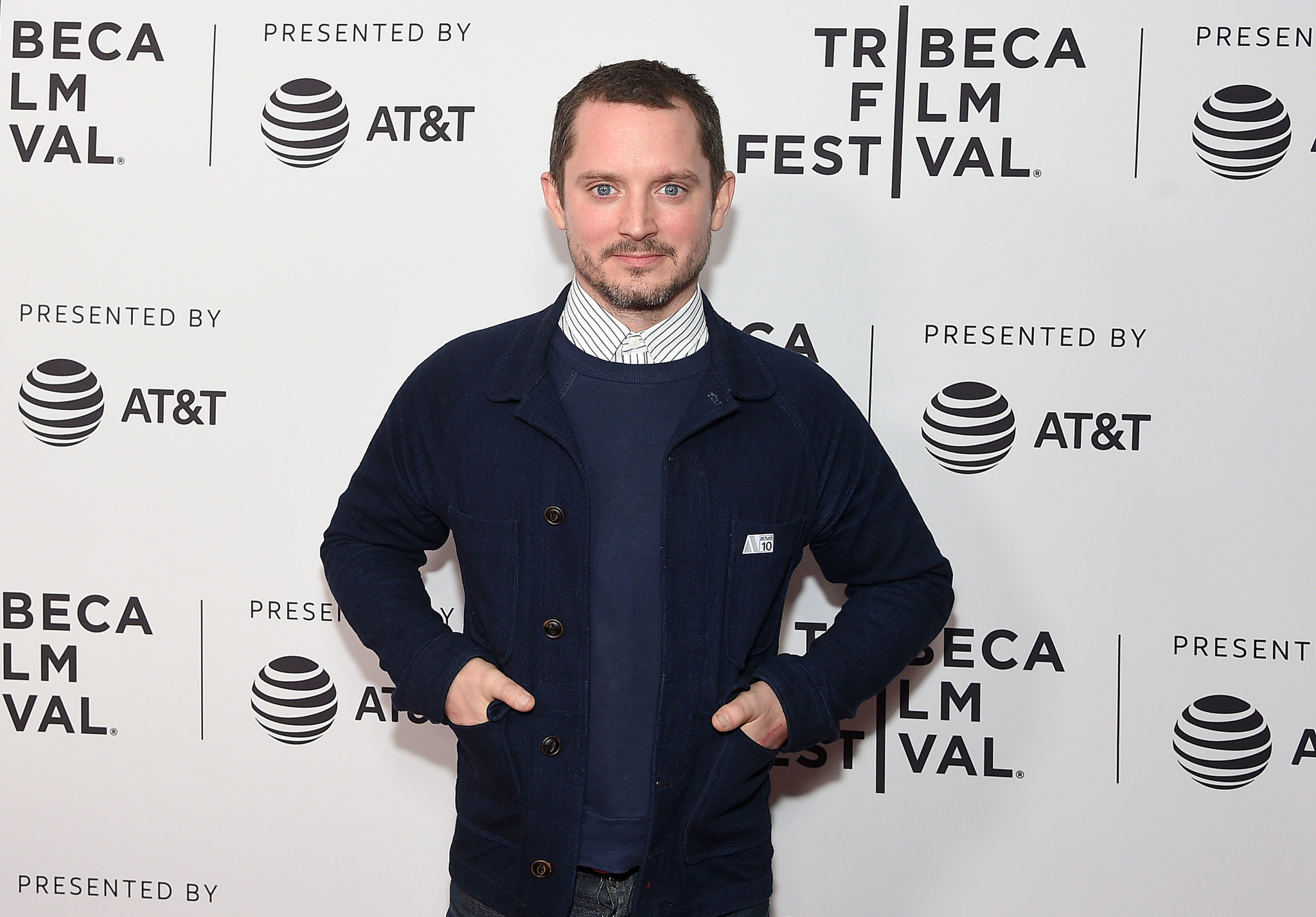 Elijah Wood at an event for Come to Daddy (2019)