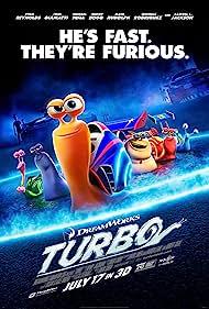 Samuel L. Jackson, Snoop Dogg, Ryan Reynolds, Maya Rudolph, Mike Bell, and Ben Schwartz in Turbo (2013)