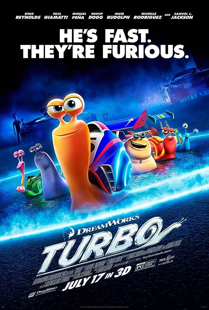 ดูหนังออนไลน์ฟรี Turbo เทอร์โบ หอยทากจอมซิ่งสายฟ้า