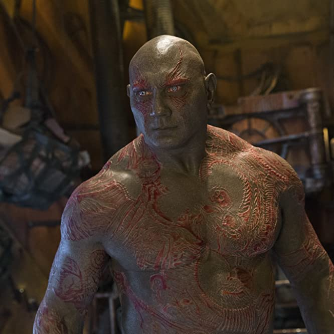 Dave Bautista in Guardians of the Galaxy Vol. 2 (2017)