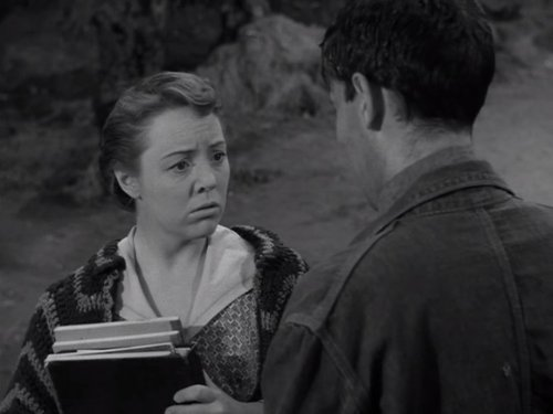 Patricia Hitchcock and Jack Mullaney in Alfred Hitchcock Presents (1955)