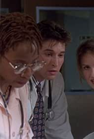 Noah Wyle, Conni Marie Brazelton, and Sherry Stringfield in ER (1994)