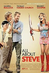 Sandra Bullock, Thomas Haden Church, Bradley Cooper, and Ken Jeong in All About Steve (2009)