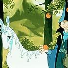 Alan Arkin and Mia Farrow in The Last Unicorn (1982)