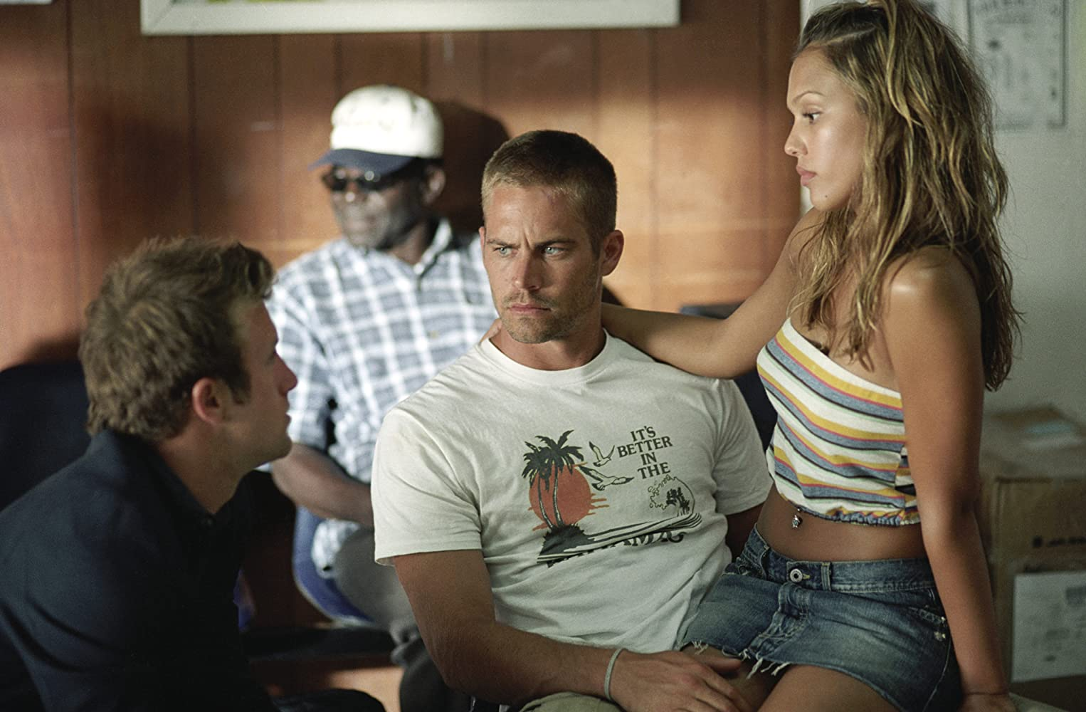Jessica Alba, Scott Caan, and Paul Walker in Into the Blue (2005)