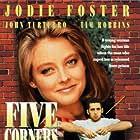 Jodie Foster and John Turturro in Five Corners (1987)