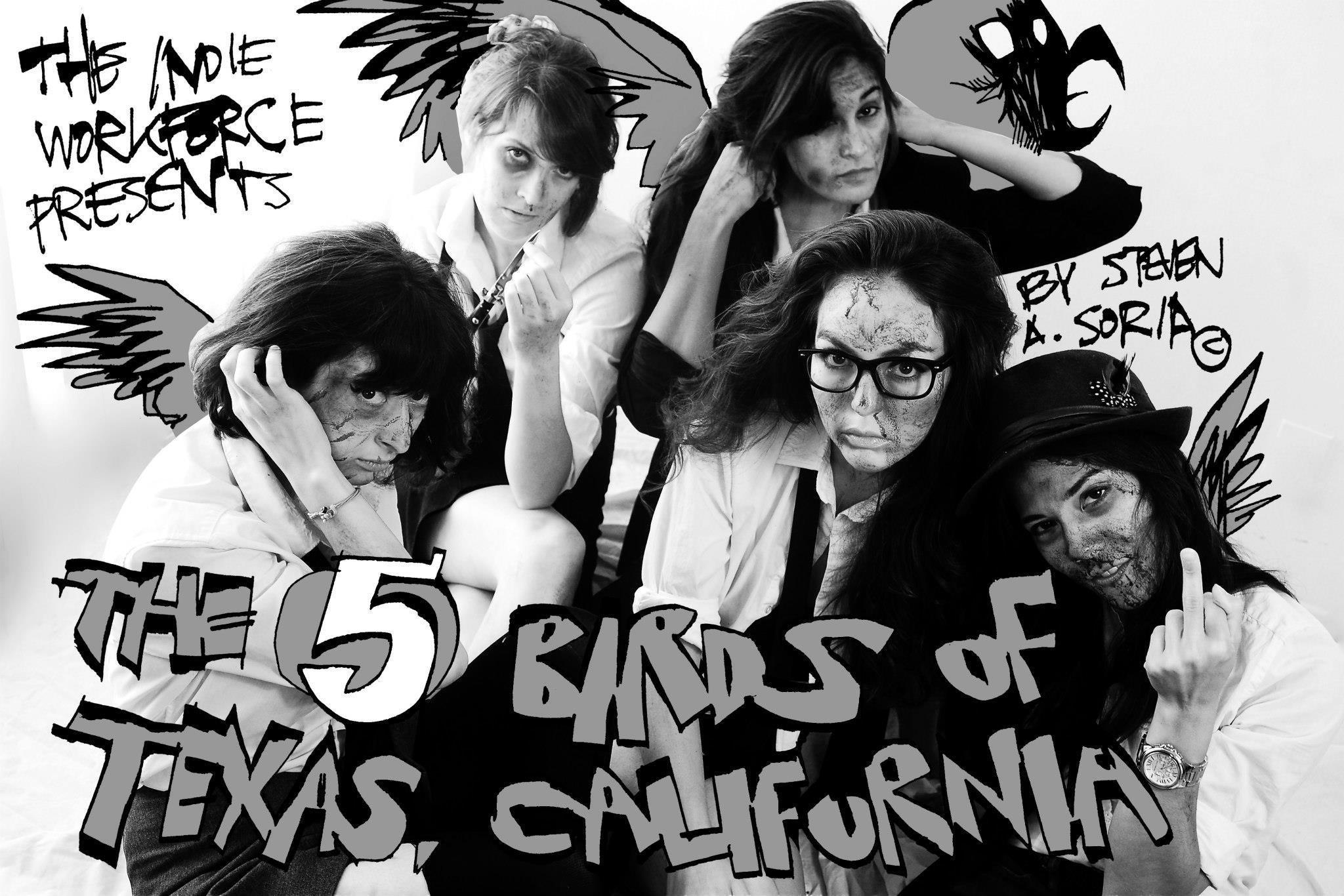 Jessica Jade Andres, Mishell Livio, Heather Higginbotham, and Melissa Loera in The Five Birds of Texas, California (2014)