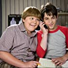 Zachary Gordon and Robert Capron in Diary of a Wimpy Kid: Dog Days (2012)