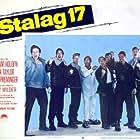 Neville Brand, Richard Erdman, Harvey Lembeck, Robert Strauss, and Don Taylor in Stalag 17 (1953)