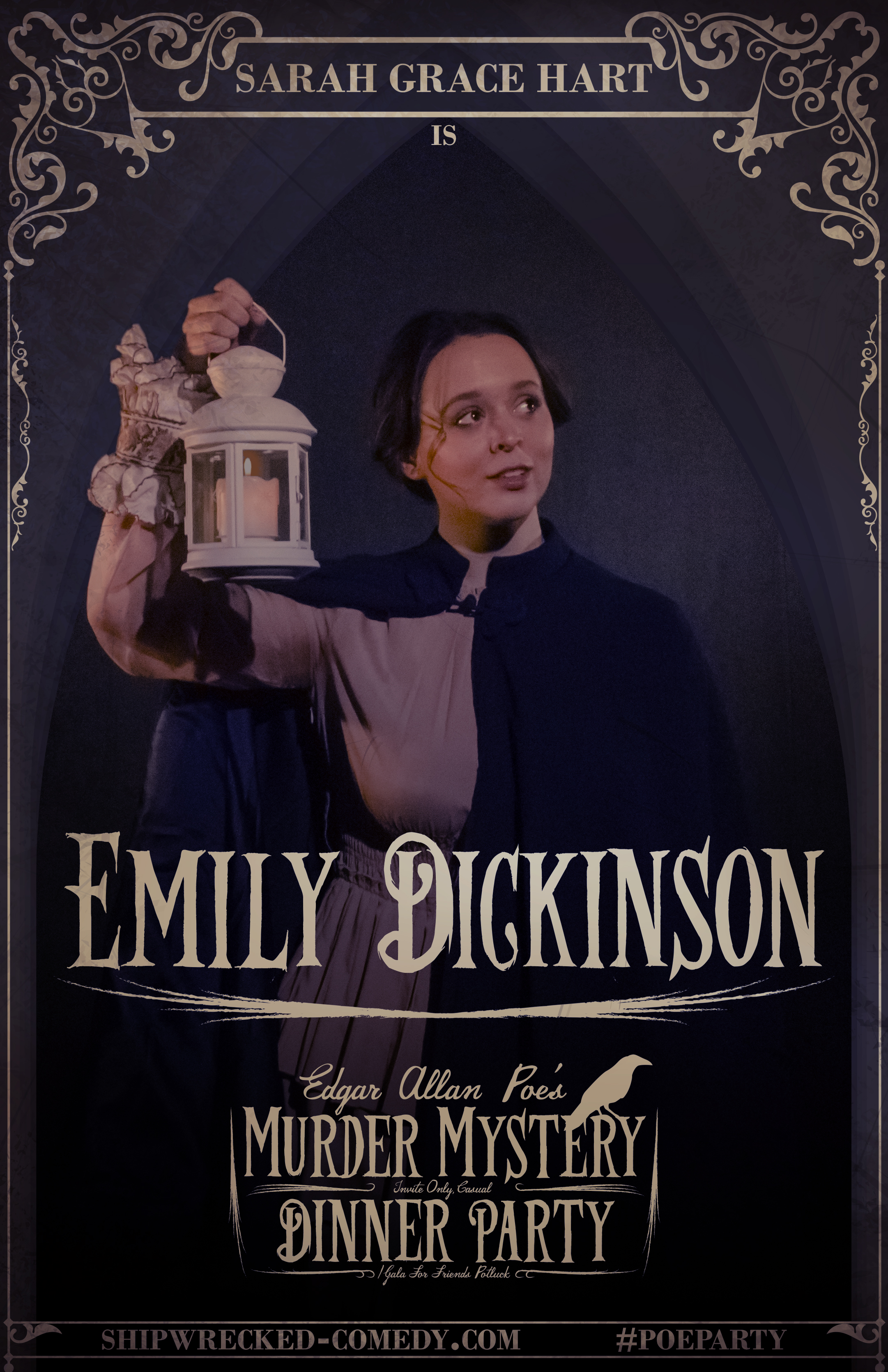 Sarah Grace Hart in Edgar Allan Poe's Murder Mystery Dinner Party (2016)