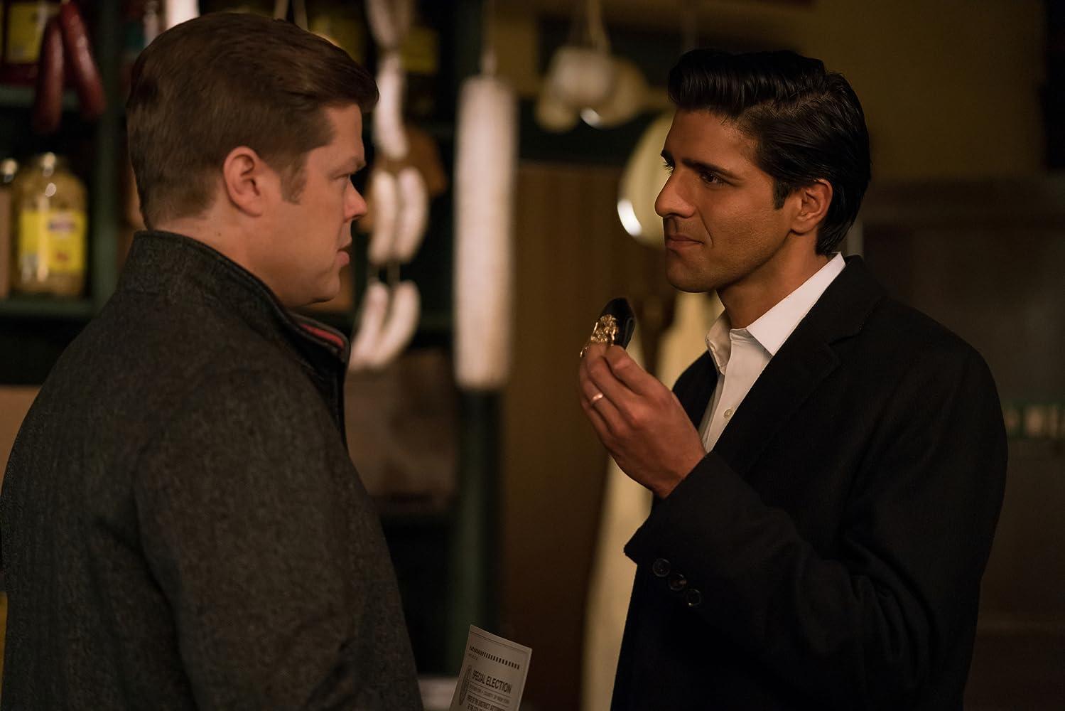 Elden Henson and Jay Ali in Daredevil (2015)