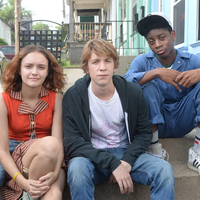 Thomas Mann, Olivia Cooke, and RJ Cyler in Me and Earl and the Dying Girl (2015)