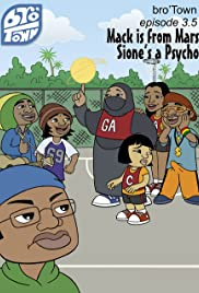 Mack Is from Mars, Sione's a Psycho Poster