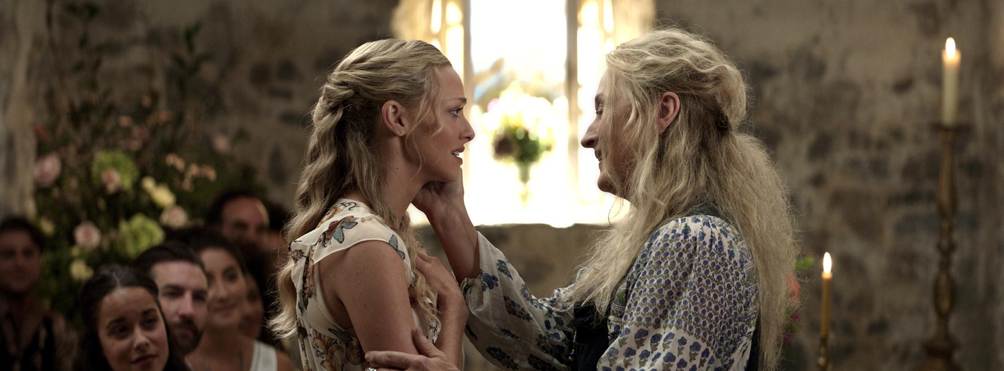 Meryl Streep and Amanda Seyfried in Mamma Mia! Here We Go Again (2018)