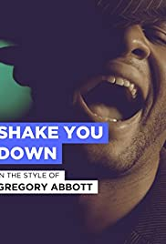 Gregory Abbott Shake You Down Poster