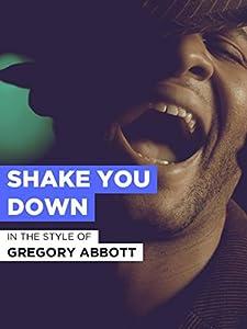 Downloads movie yahoo Gregory Abbott: Shake You Down [640x360]