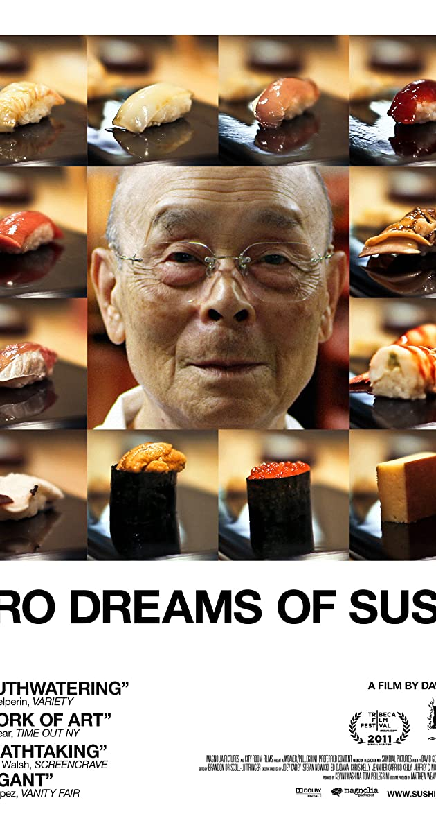 Subtitle of Jiro Dreams of Sushi