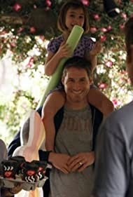 Erika Christensen, Sam Jaeger, Adam Braverman, and Savannah Paige Rae in The Deep End of the Pool (2010)