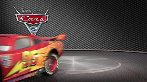 "Cars 2 –  ""Lightning McQueen Turntable"""