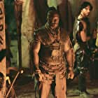 Michael Clarke Duncan and Peter Facinelli in The Scorpion King (2002)