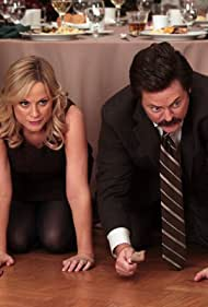 Nick Offerman and Amy Poehler in Parks and Recreation (2009)