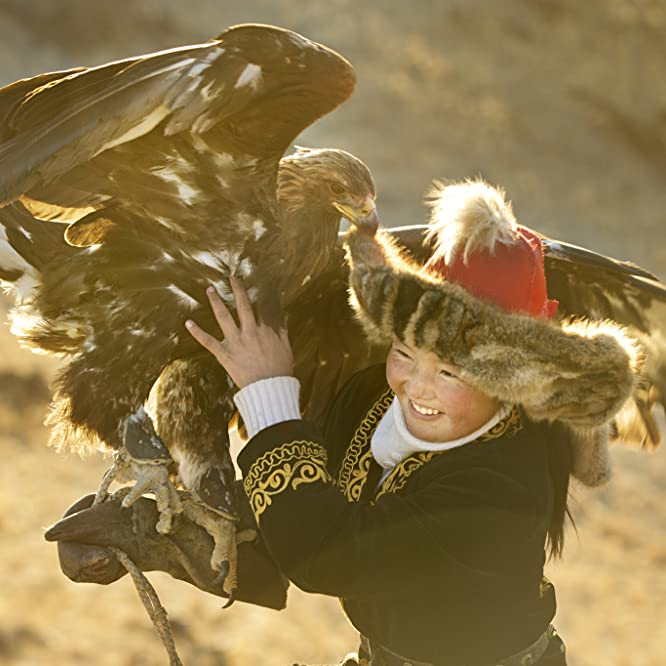 Aisholpan Nurgaiv in The Eagle Huntress (2016)