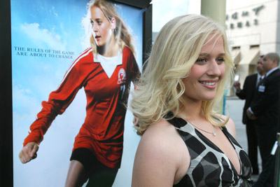 Carly Schroeder at an event for Gracie (2007)