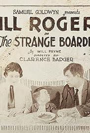 The Strange Boarder Poster