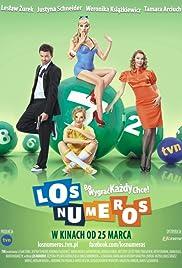 Los numeros Poster