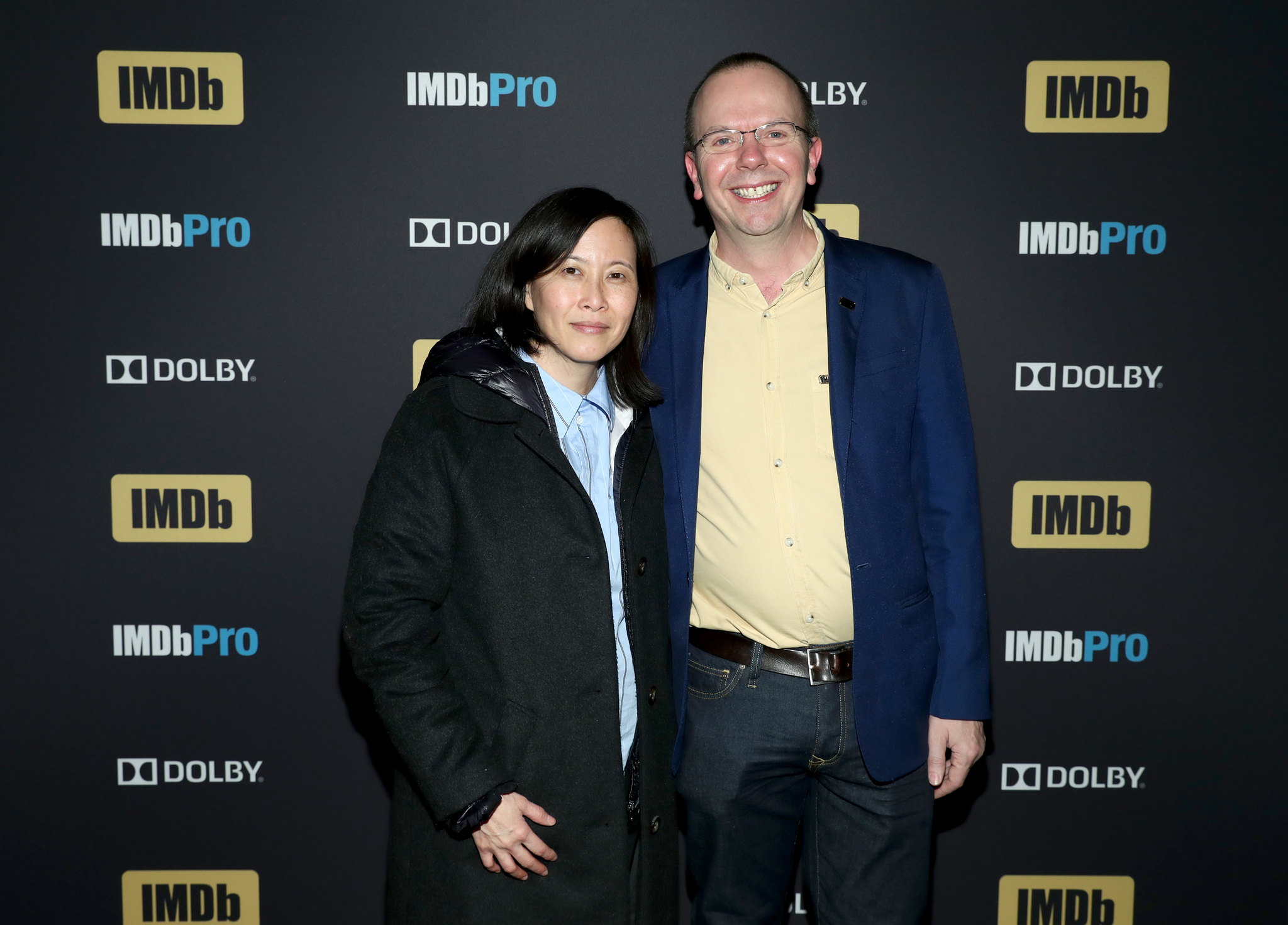 Col Needham and Kim Yutani