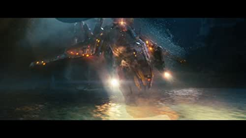 A fleet of ships is forced to do battle with an armada of unknown origins in order to discover and thwart their destructive goals.